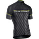 Northwave Logo 3 Jersey SS Men black/yellowflu